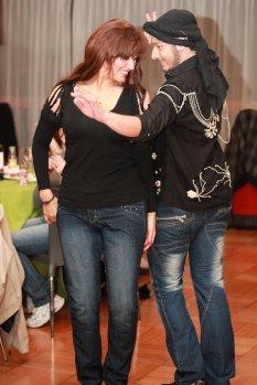 Khalil Khalil with Randa Kamel
